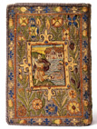 Tapestry covered Bible