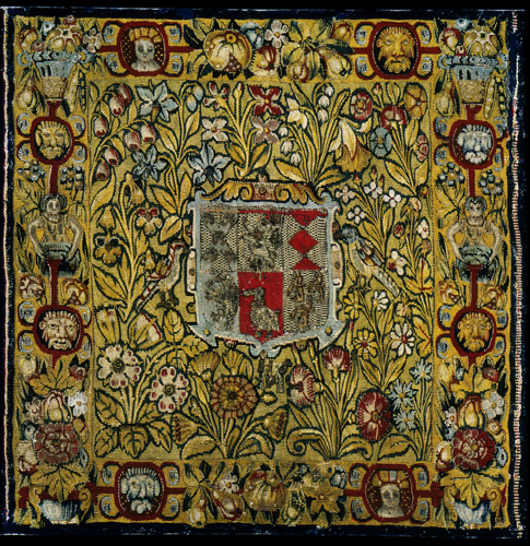 Tapestry: The Arms of Sacheverell, Derbyshire